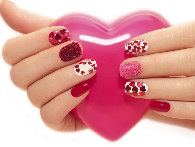20 De Modele De Unghii Pentru Valentines Day Care Te Vor Inspira