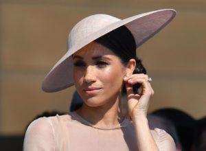 Meghan Markle a purtat coada ponytail în cel mai glam mod posibil