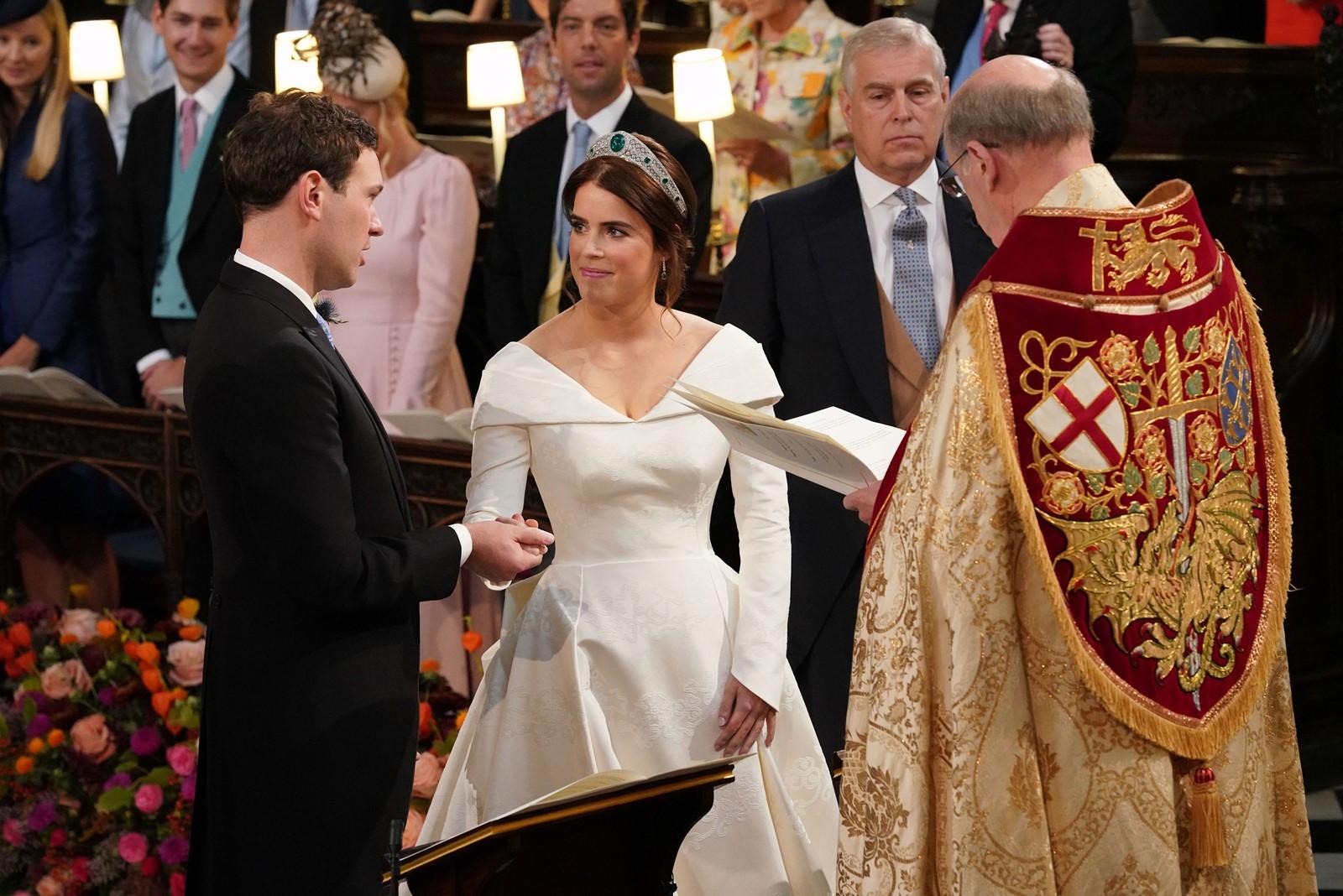 Primele fotografii de la nunta Prințesei Eugenie și a lui Jack Brooksbank