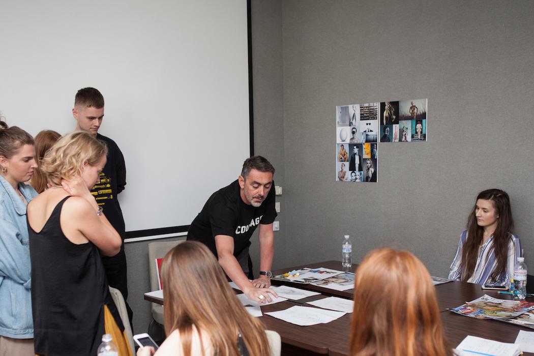 Primul workshop susținut în România de Istituto Europeo di Design la V for VINTAGE
