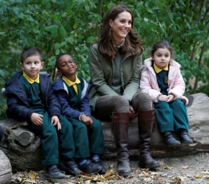 Kate Middleton primul eveniment concediul de maternitate