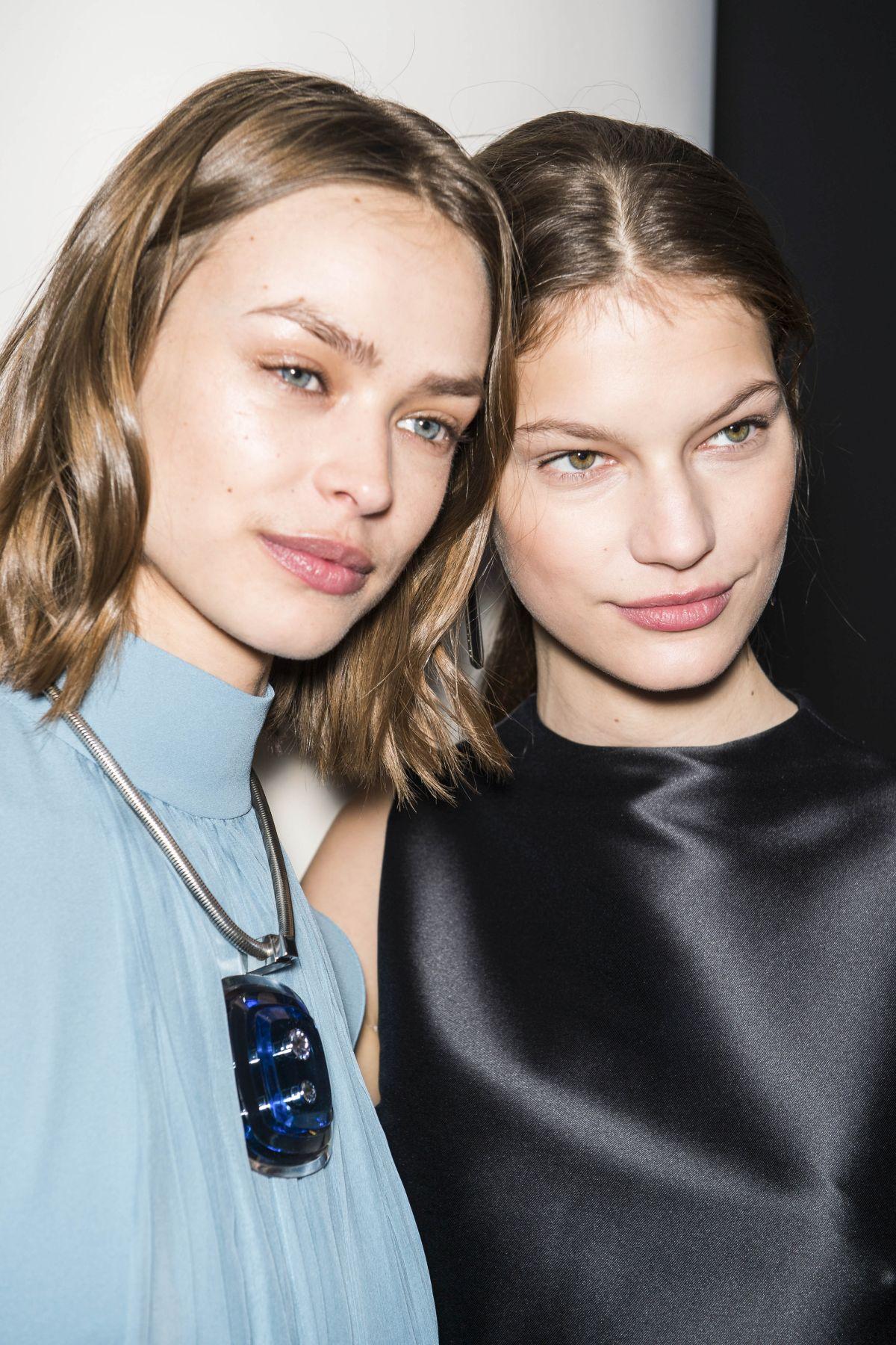 Beauty, Womenswear, winter 2018 2019, Paris, Lanvin