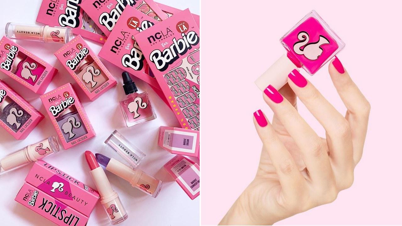Linia de makeup inspirată de Barbie este tot ce ne doream în copilărie