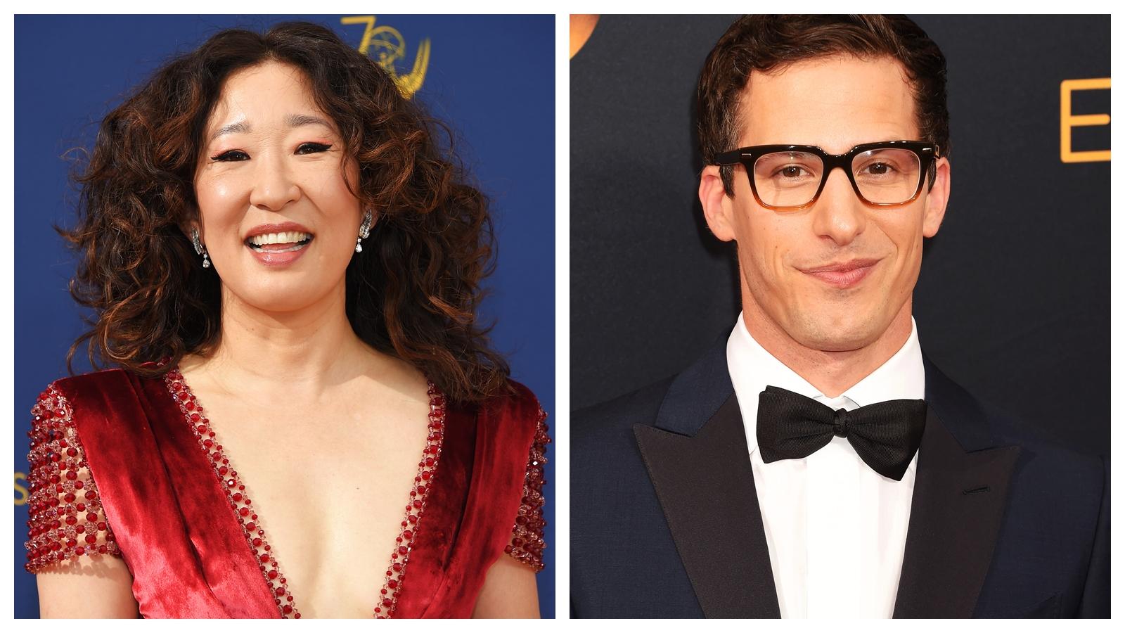 Sandra Oh și Andy Samberg vor fi gazdele Globurilor de Aur 2019